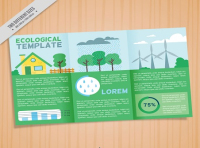 ecological template vector
